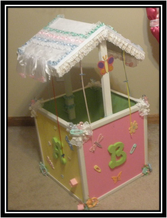 Make Baby Shower Wishing Well http://memoirspartyrental.com/baby-shower-deco